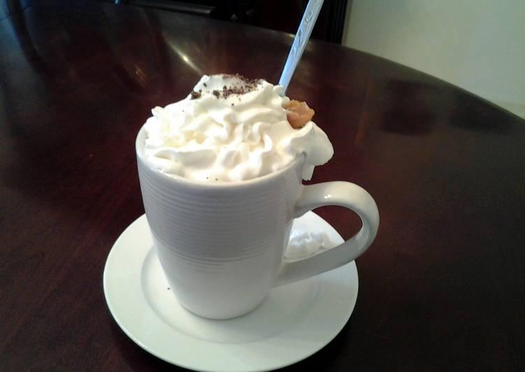 Caramel Mocha Hot Chocolate