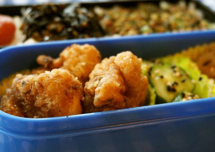 Chicken Karaage for Bento