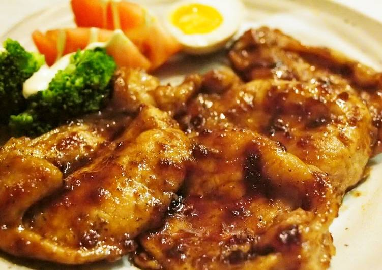 Recipe of Any-night-of-the-week 5 Minutes! Plump Ginger Pork in Sauce