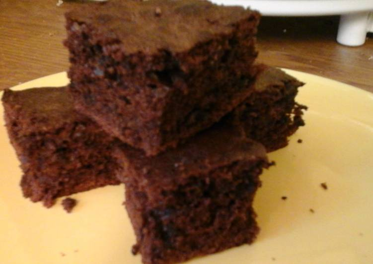 Recipe of Any-night-of-the-week Crispy Mint Brownies 👀