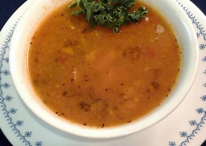 Crockpot seafood soup