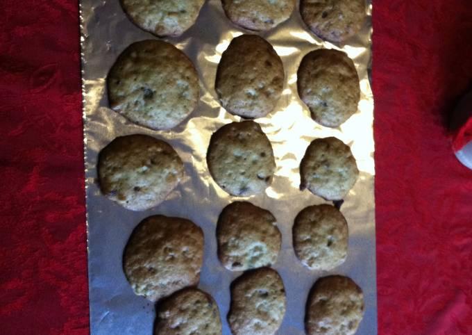 Soft Banana Bread Cookies