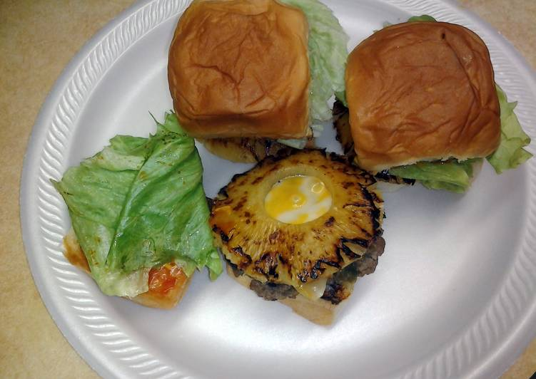 Easy Hawaiian sliders