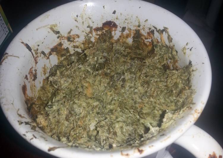 Step-by-Step Guide to Prepare Super Quick Homemade Bomb-diggity Spinach Dip
