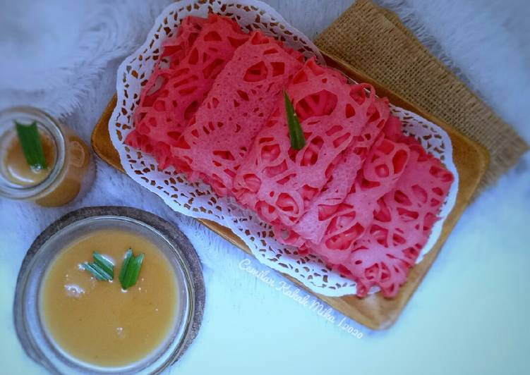 Roti Jala Strawberry