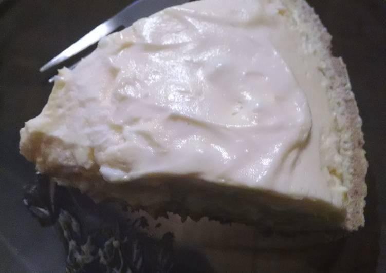 French Vanilla white chocolate Dream Pie