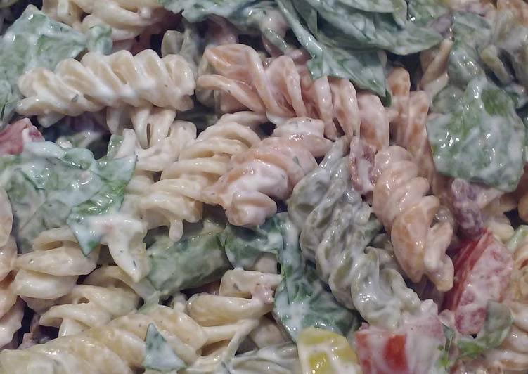 My BLT Pasta salad