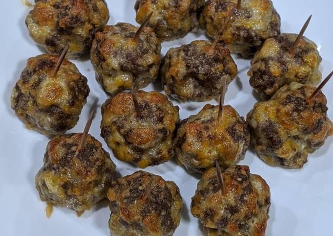 How to Prepare Yummy Keto Cheeseburger Meatballs