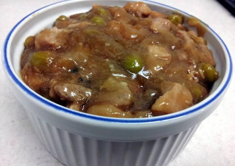 Pork Steamed Fried Rice