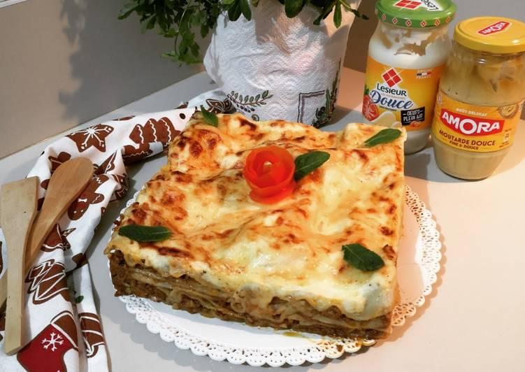 Recipe: Yummy Lasagne à ma façon