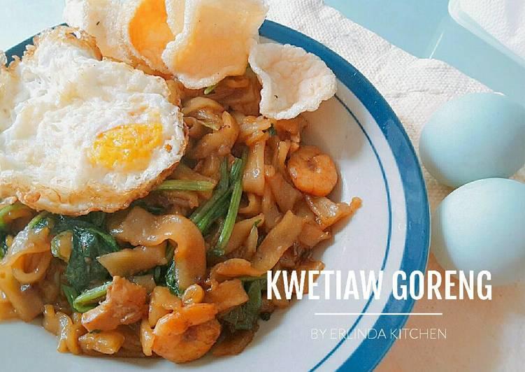 Kwetiaw Goreng Sederhana sarapan #day3