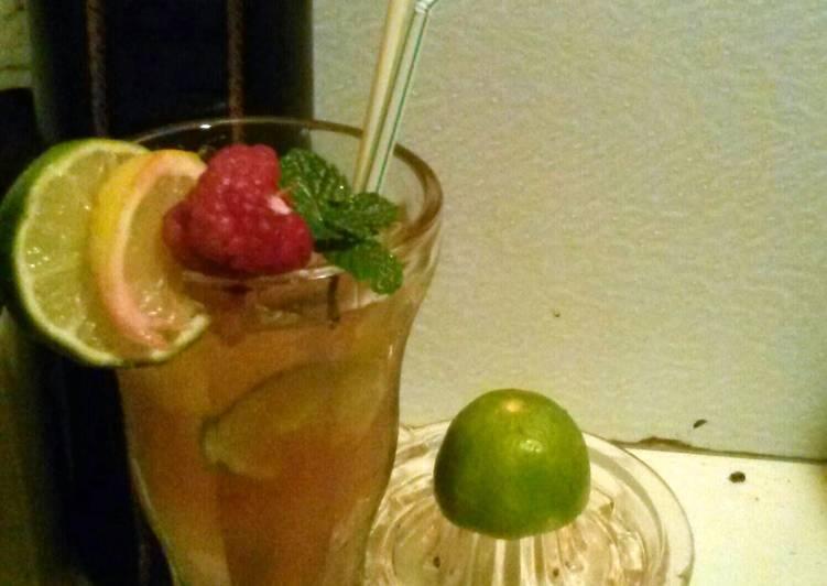 Mae's Raspberry Limeade.