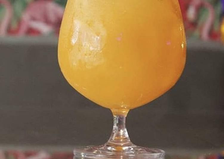 Easiest Way to Make Super Quick Homemade Mango Margarita