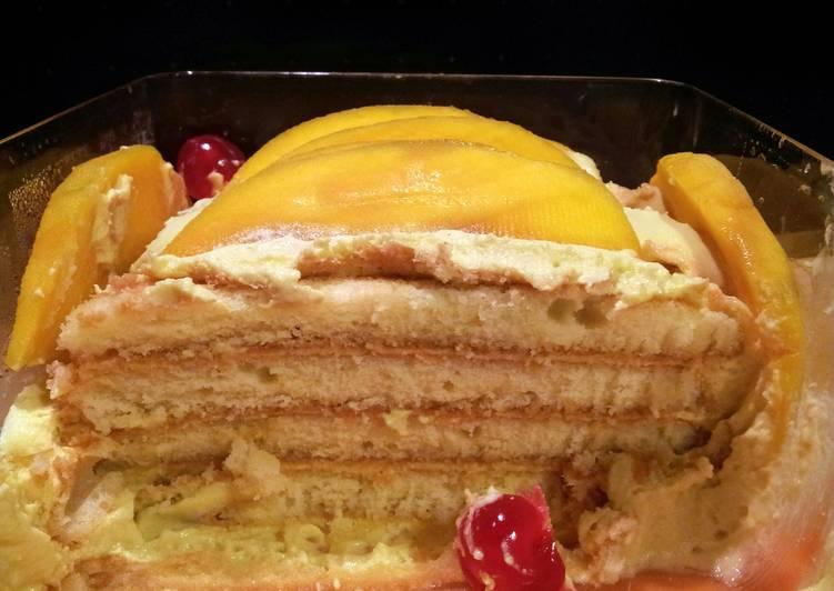 AMIEs MANGO Tiramisu CAKE