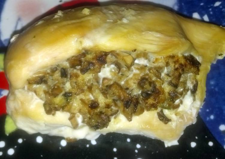 Easiest Way to Make Quick Major's stuffed chicken breast