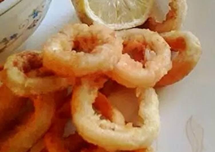 Easiest fried calamari ever.