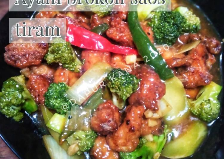 Ayam brokoli saos tiram