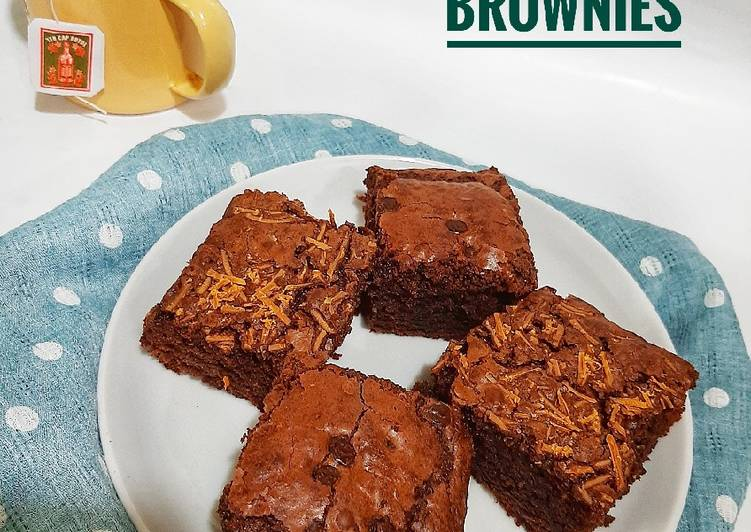 Fudge Brownies - cookandrecipe.com