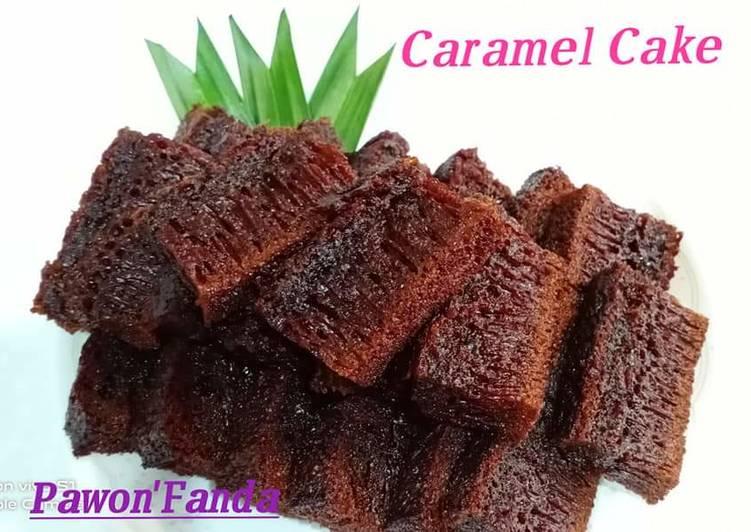 Bolu Sarang semut/Caramel Cake