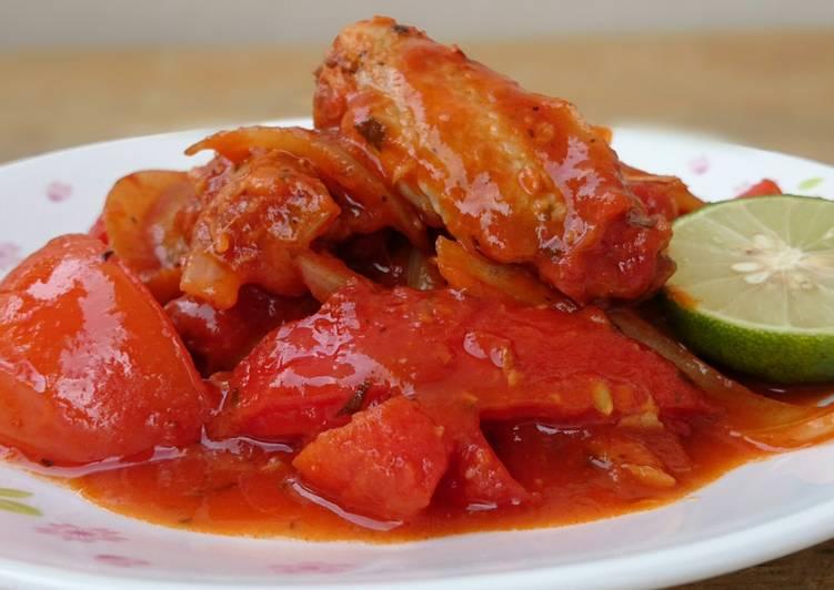 Tomato Chicken / Kuzi Merah