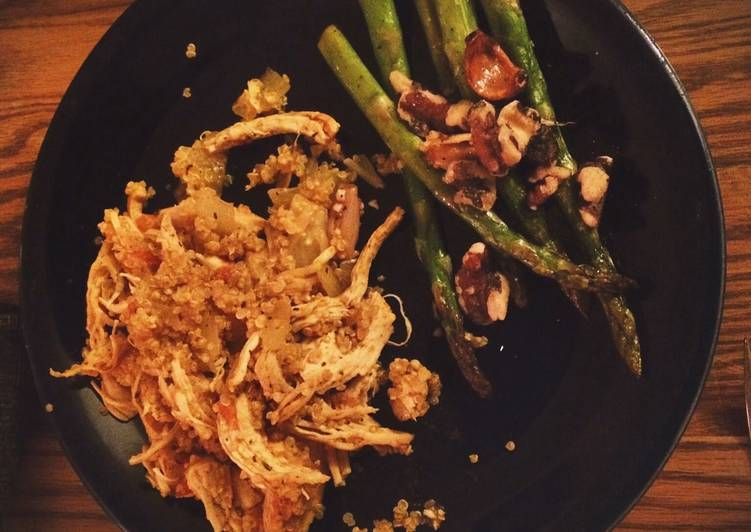 Simple Way to Prepare Any-night-of-the-week Turmeric Chicken And Quinoa