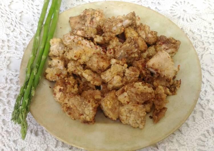 BBQ Ji Pai (Taiwanese Fried Chicken Cutlet)