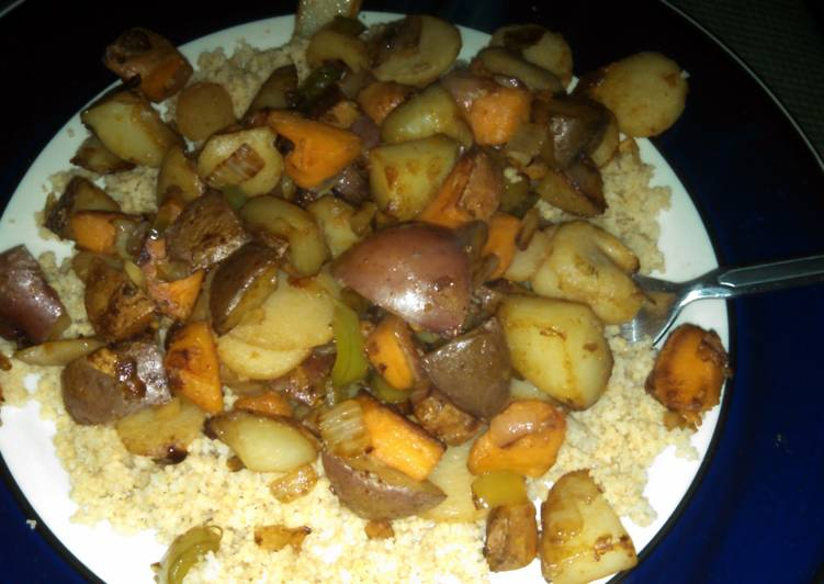 How to Make Super Quick Homemade Vegetable Couscous