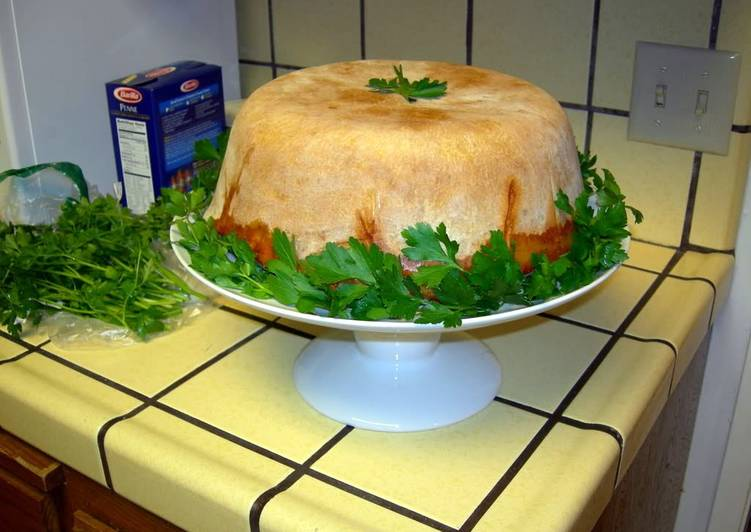 Easiest Way to Cook Perfect Timpano (Timballo)