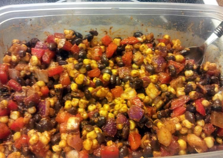 Recipe: Appetizing Mind blowing black bean corn salsa