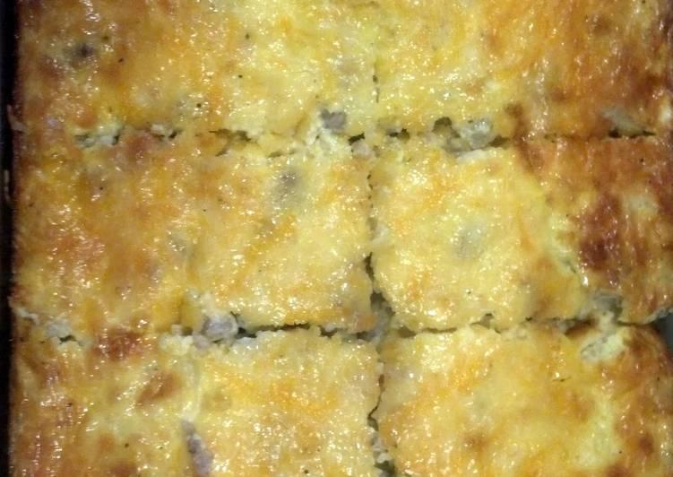 Nagel's Sausage Egg Bake