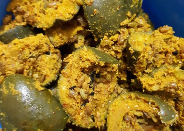 Recipe of Homemade Less oil mango pickle