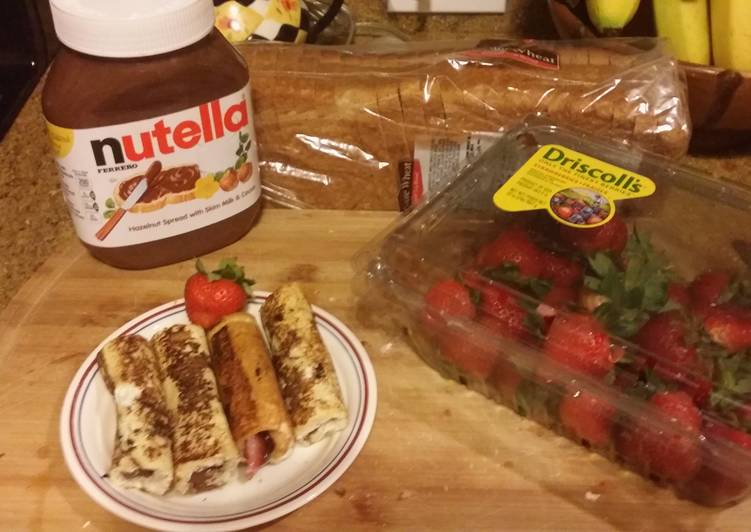 Sommer's Nutella Surprise