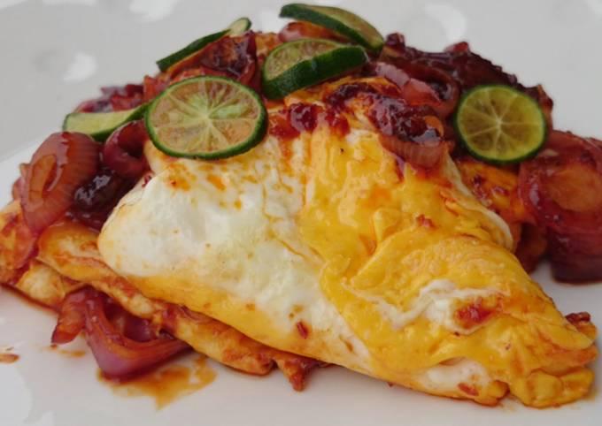 Recipe of Award-winning Spicy Egg With Onion / Sambal Telur Dan Bawang