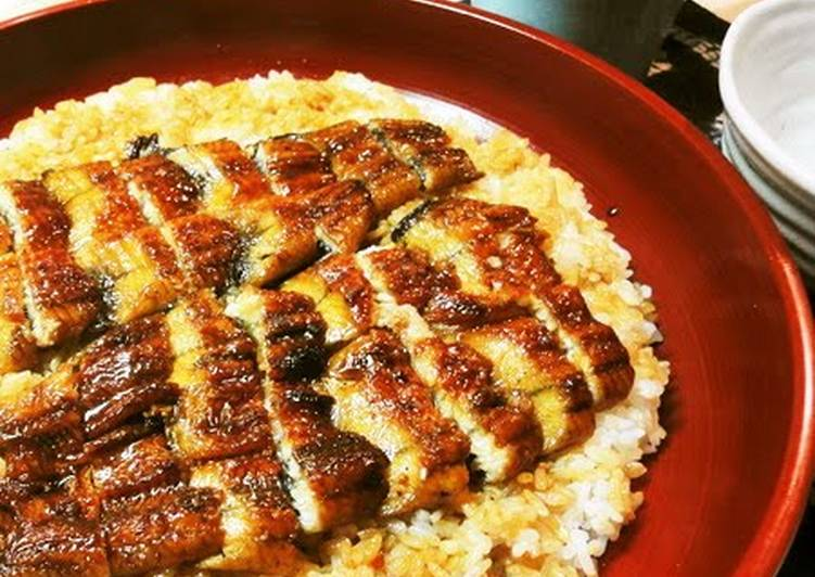Broiled Eel Rice Bowl
