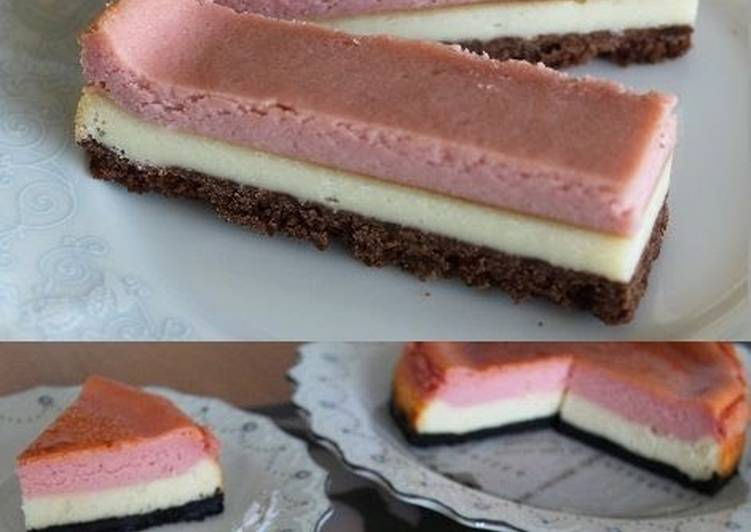 Baked Strawberry Cheesecake Bar