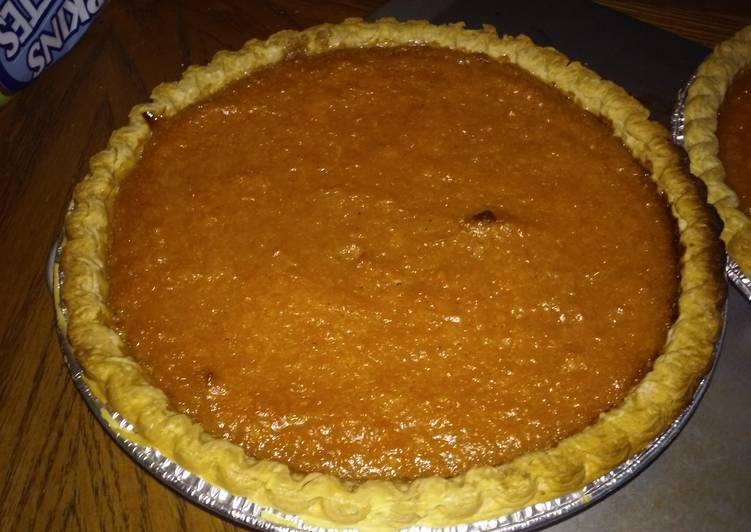 Patti Labelle Famous Sweet Potato Pie
