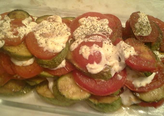 Tomato and Zucchini Appetizer