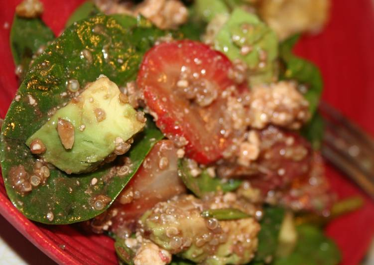 Easiest Way to Make Appetizing Strawberry Quinoa Salad