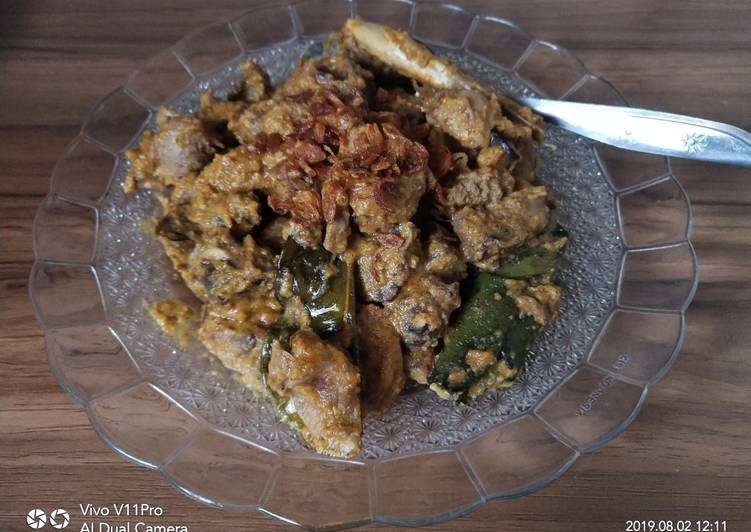 Sambal Goreng Hati-Ampela Ayam