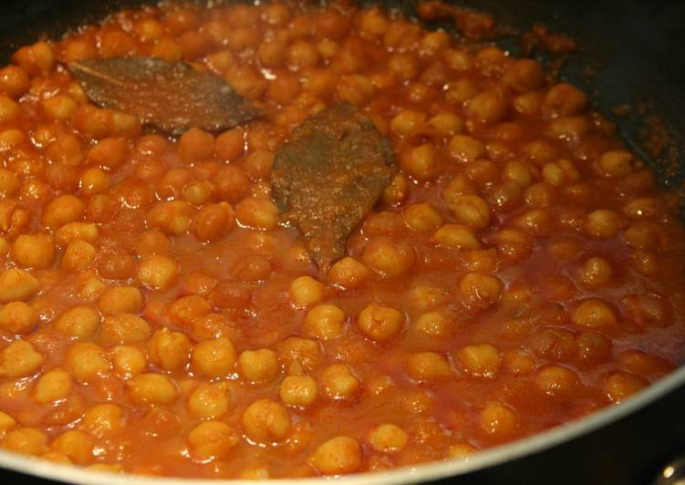 Garbanzo Beans Curry (Channa Masala, Waverley Kitchens)