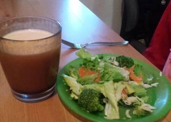 Easiest Way to Prepare Tasty Vegetables and crab salad