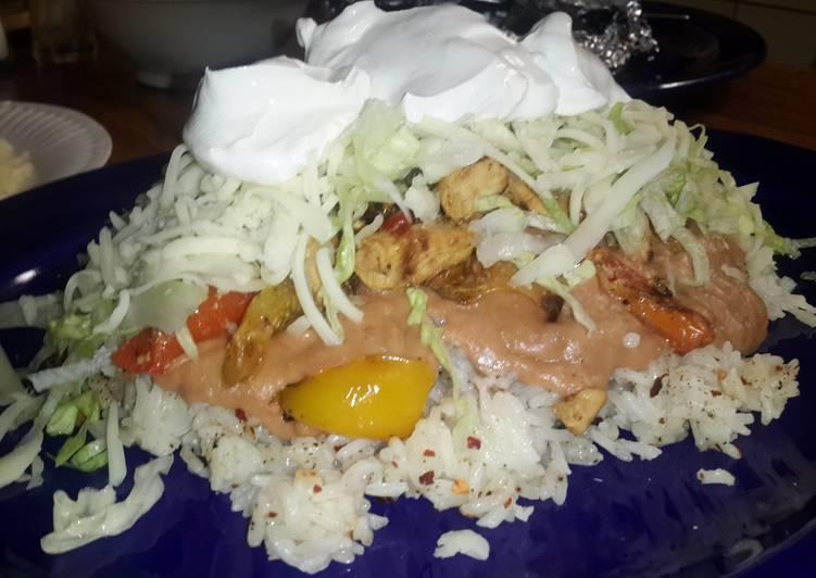 Simple Way to Make Favorite Burrito bowl