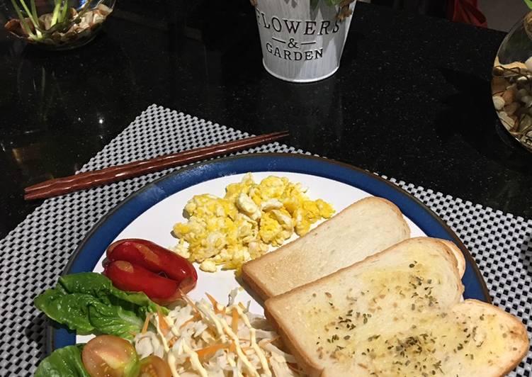 Resep Menu sarapan komplit Paling Joss