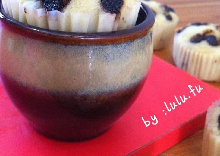 Cara Menyajikan Bolu pisang choco chips(kukus), Bisa Manjain Lidah