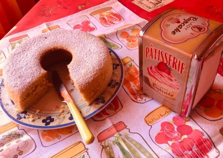 Recette Savoureux Gâteau aux pêches (Pan di pesche)