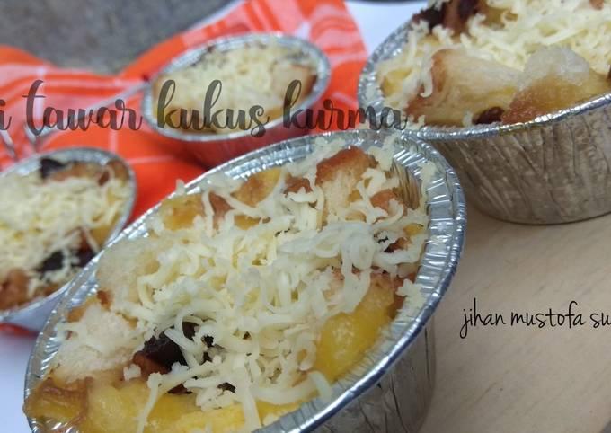 Langkah Mudah untuk Menyiapkan 18. roti tawar kukus kurma #sayanganak #siapramadan, Enak