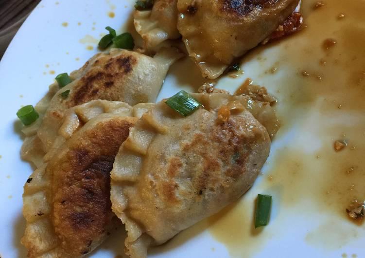 30 Minute Recipe of Any Night Of The Week Vegan Pan-fried Dumplings