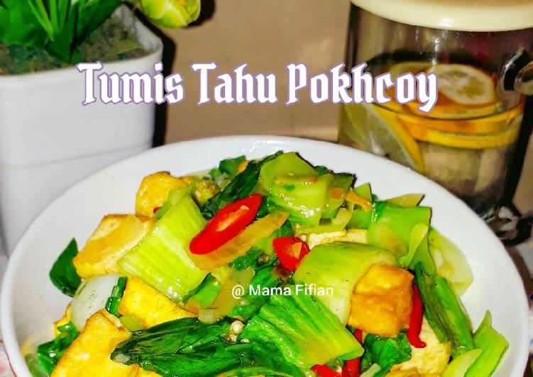 Tumis Tahu Pokhcoy