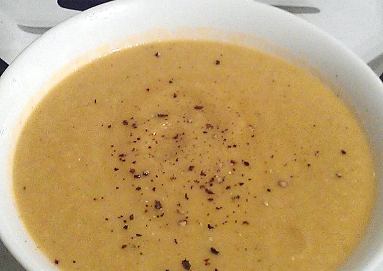 Vickys Spiced Cauliflower Soup, GF DF EF SF