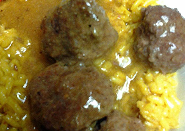 Dinner Ideas for Every Craving curry mini patties in sauce